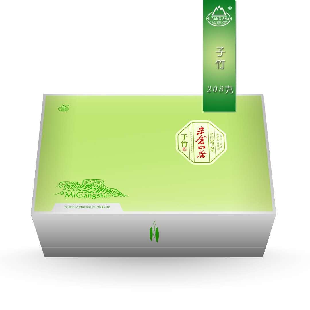 米仓山茶 生态子竹 208g礼盒装